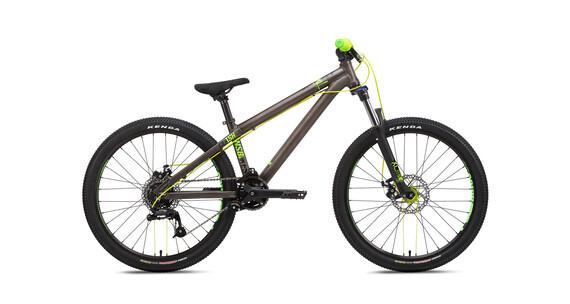 NS Bikes Clash JR Rower Dirt Dzieci szary/zielony